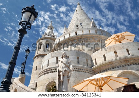 Fisherman's Bastion in Budapest - Hungary