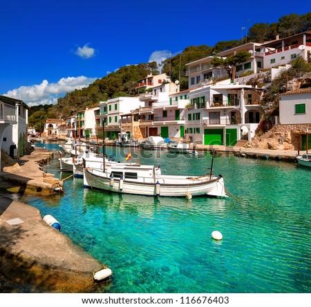 Fishermen village, Mallorca, Spain