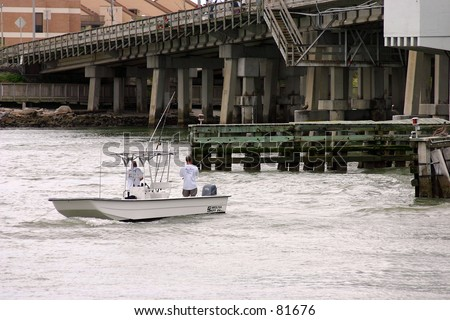 Fishing at the bridge johns pass fl stock photo 81676 for Johns pass fishing