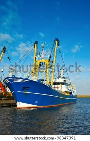 Fishing boat at the harbor