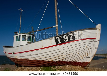 fishing boat at the North Sea