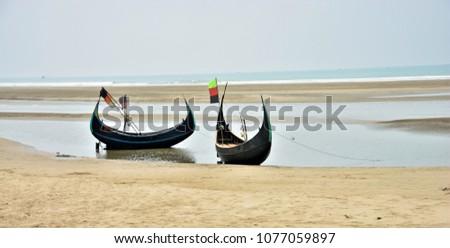 Fishing Boat in Cox's Bazar, Bangladesh