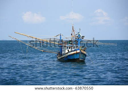 Fishing boat of Thailand