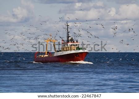 Fishing boat return