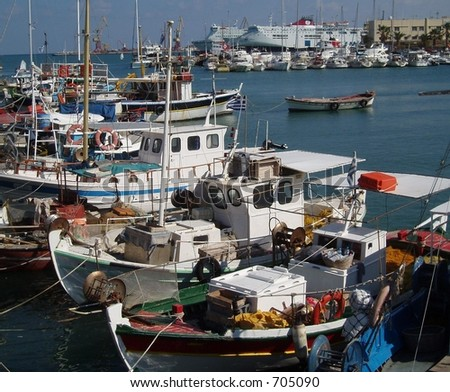 Fishing Boats in Heraklion