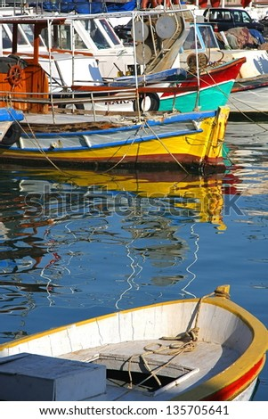 Fishing boats in Kusadasi