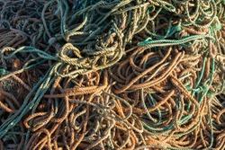 fishing net fisherman knot pattern
