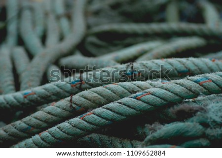 Fishing nets detail  #1109652884