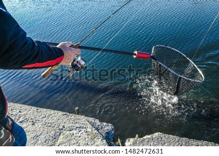 fishing recreation nature outdoor background #1482472631