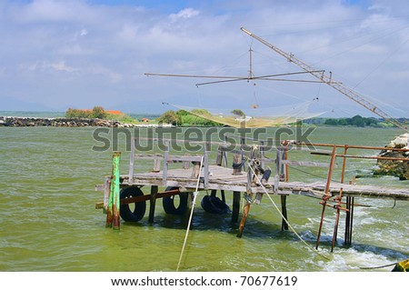 fishing stage