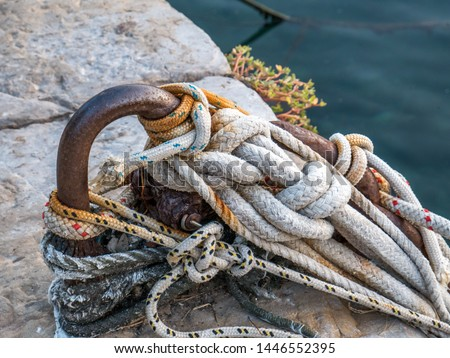 fishing tackle vintage jetty ropes #1446552395