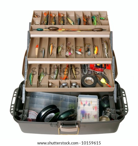 Fishing Tool Box Stock Photo 10159615 Shutterstock