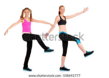 Fitness dance move