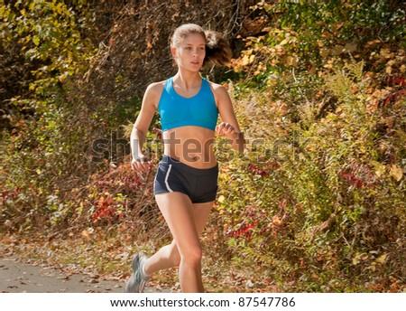 Fitness Female  Runner