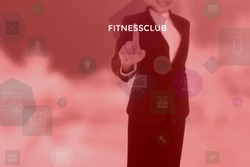 FITNESSCLUB - technology and business concept