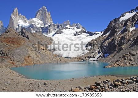 Fitz Roy Massif and Laguna De los Tres, Patagonia Argentina