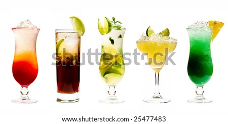 Five Cocktails