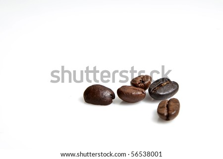 five coffee beans