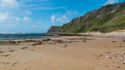 Five Finger Strand in Inishowen Peninsula ,Donegal, Ireland. Wild Atlantic Way