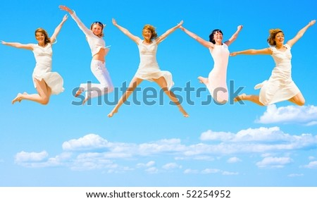 Five Flying Angels
