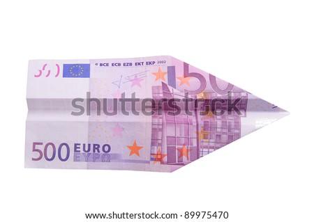Five hundred euro plane
