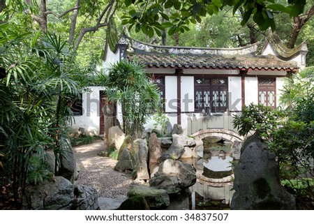 five key elements(water,rock,plant,footpath and arrangement of buildings)  will make up the Classical Chinese Garden.