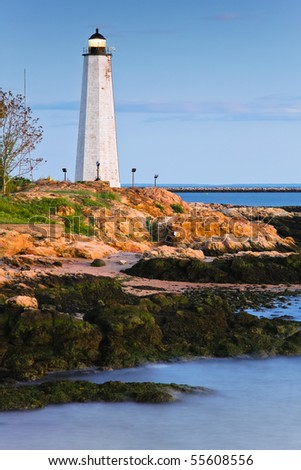 Five Mile Point - New Haven Lighthouse. CT