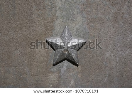 five pointed star of communism...