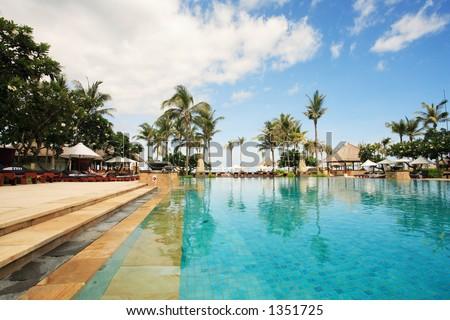 Five Stars Hotel Swimming Pool