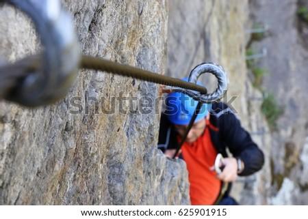 Shutterstock Fixed-rope Route (Via Ferrata)