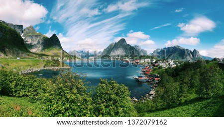 Fjord in Norway #1372079162