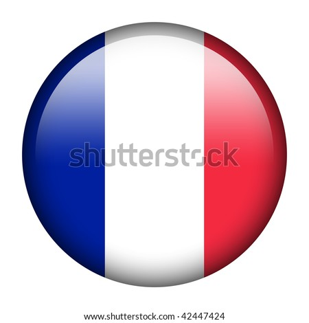 Flag button series of all sovereign countries - France
