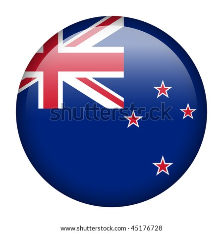 Flag button series of all sovereign countries - New Zealand