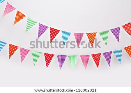 Flag garland