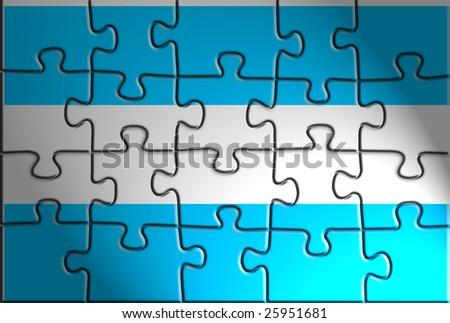 Flag Of Argentina National Symbol Illustration Clipart Ez Canvas