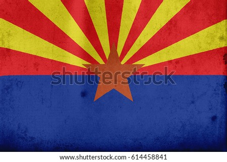 flag of arizona  united states...