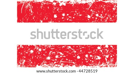 flag of Austria in retro style - stock photo