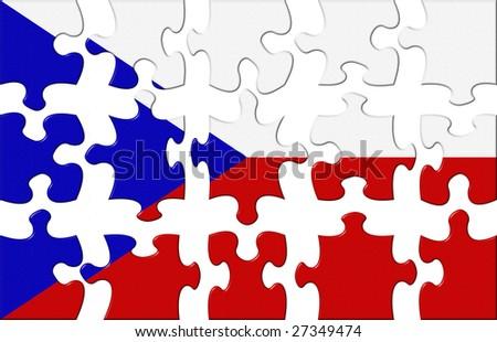 Flag of Chehia puzzle