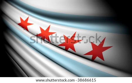 Flag of Chicago (USA)
