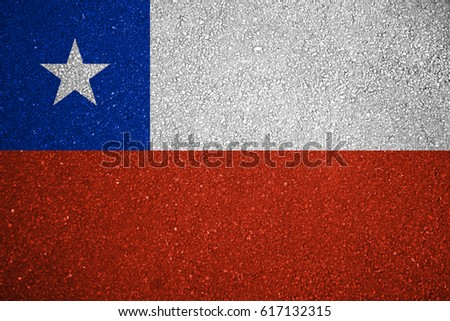 Flag of Chile #617132315