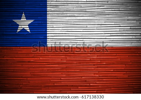 Flag of Chile #617138330