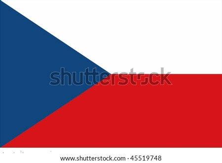 flag of Czech Republic / already flag of Czechoslovakia
