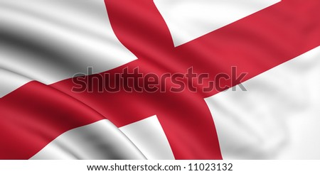 Flag Of England - stock photo