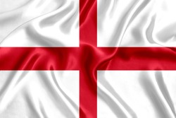 Flag of England silk