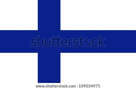Flag of Finland, (11 x 18)