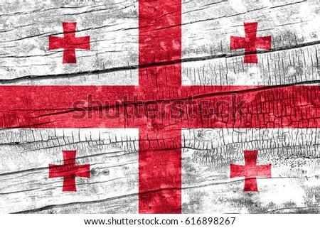 Flag of Georgia #616898267