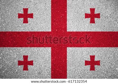 Flag of Georgia #617132354