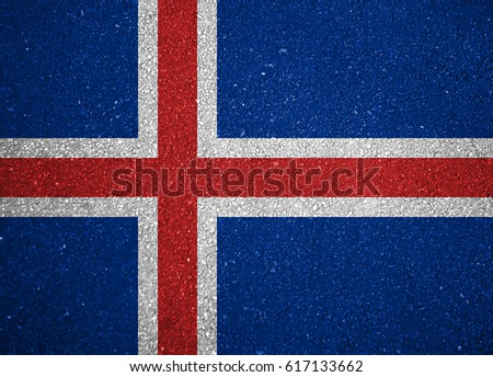 Flag of Iceland #617133662