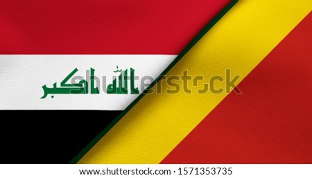 Flag of Iraq and Congo