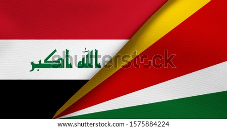 Flag of Iraq and Seychelles